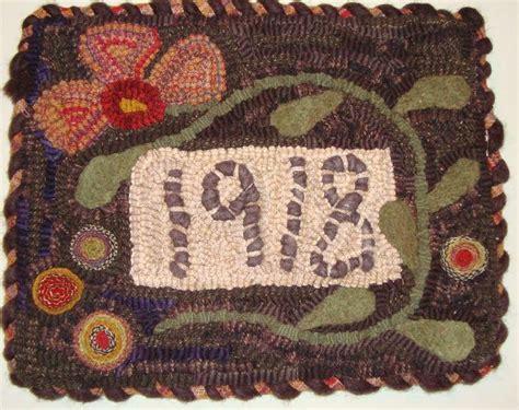 saundra of woodland junction hooked rugs pinterest
