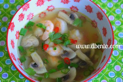 Bumbu Tom Yum Mak Nyonya Instant Tom Yam Sauce 100gr Malaysia Perencah bento mania resep sup segar tom yam goong