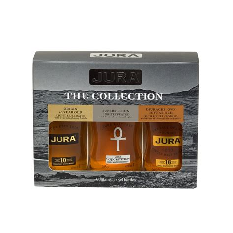 Yurra Set isle of jura the collection single malt scotch whisky