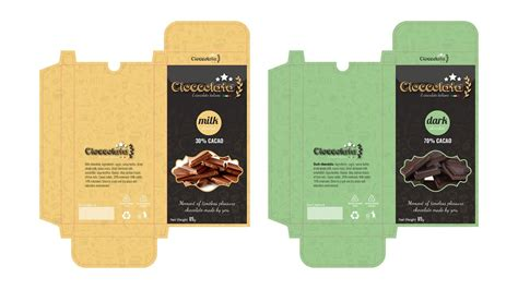 tutorial design packaging packaging design cioccolata chocolate tutorial adobe