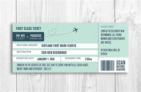 10 Boarding Pass Sles Sle Templates Boarding Pass Invitation Template Free