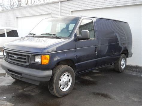 how does cars work 2004 ford e series engine control purchase used 05 ford e350 econoline powerstroke turbo diesel extended cargo f350 e 350 e 350 in