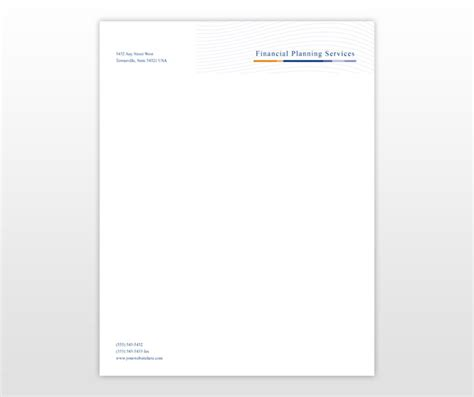 personal stationery template pin creative letterhead sles on