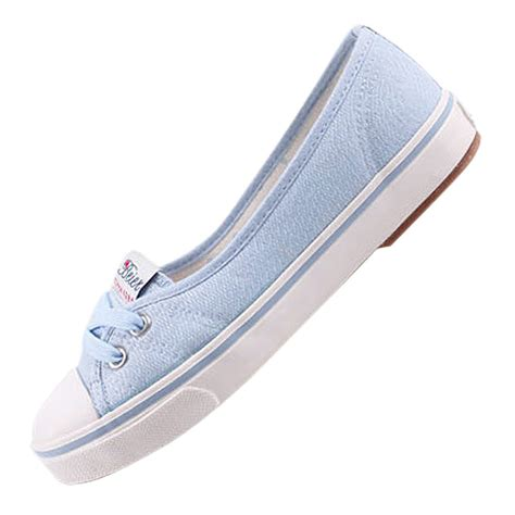 and summer flats canvas shoes womens casual