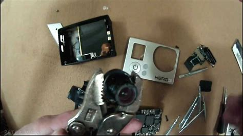 Gopro Vision Diy Vision Gopro 3 How To Remove The Infrared Filter