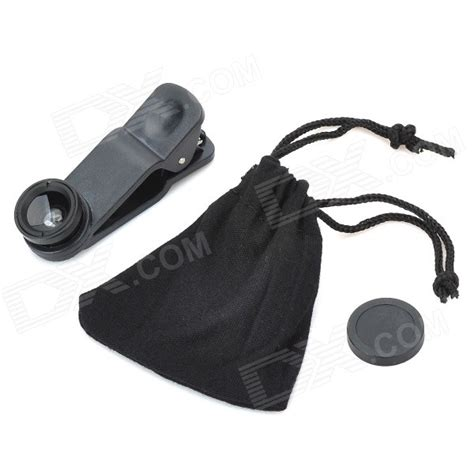 Universal Clip Wide O4x lieqi universal clip on wide angle lens macro lens for iphone cellphone more black