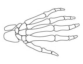 skeleton cut out template skeleton pattern use the printable outline for