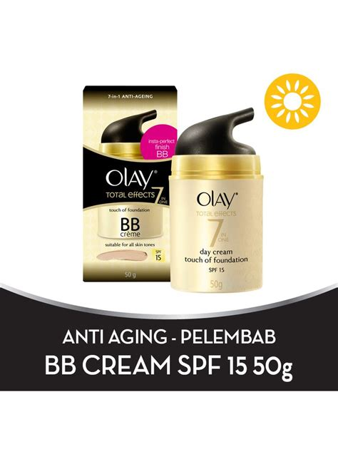Pembersih Olay Total Effect olay t e touch of foundation spf 15 day btl 50g