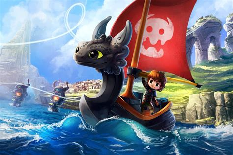 wind waker boat how to train your dragon the wind waker toothless boat