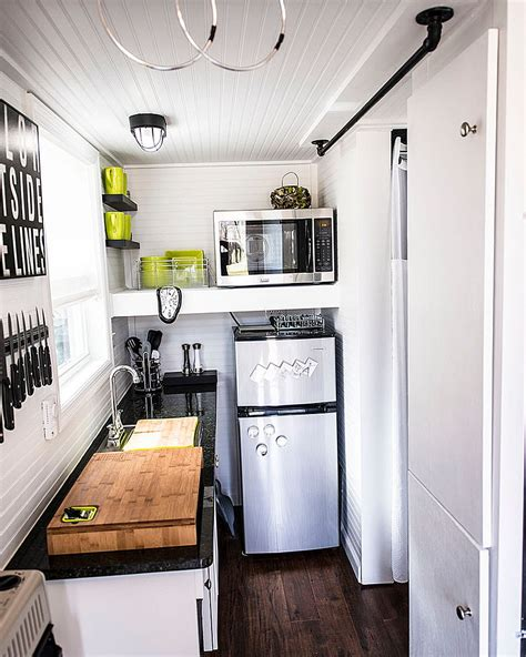 tiny apartment kitchens  excel  maximizing small