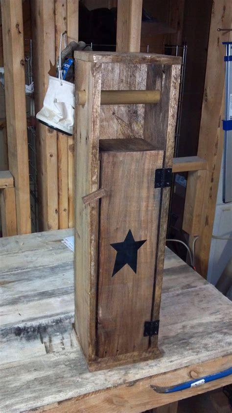 pallet toilet paper holder wood toilet paper holder pallet home decor diy pallet projects