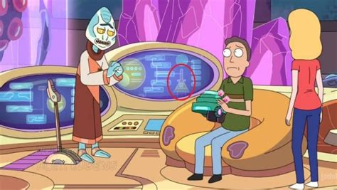 The best Easter eggs from Rick and Morty season 2   Geek.com