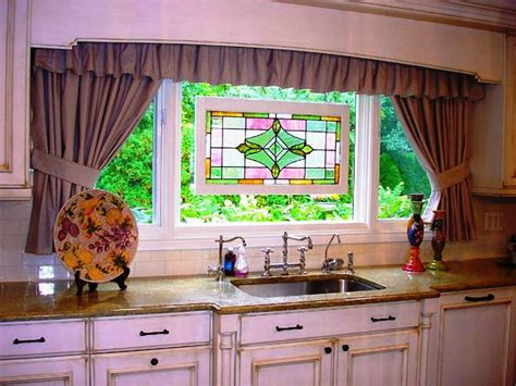 curtain kitchen ideas suitable kitchen curtain ideas make your kitchen more