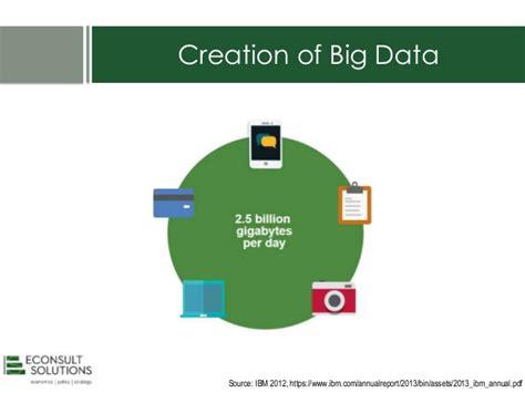 econsult world bank use of big data