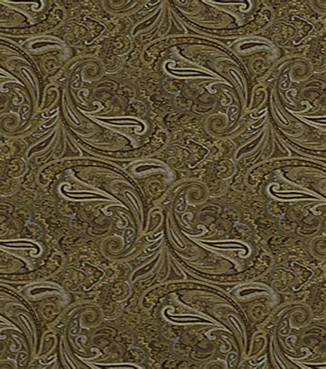 home decor print fabric robert allen patna paisley fawn at