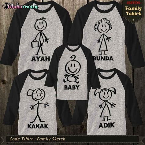 design baju outing 25 model kaos family gathering dan event outing terbaru
