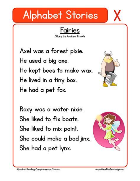 printable alphabet stories kindergarten story worksheets tutsstar thousands of