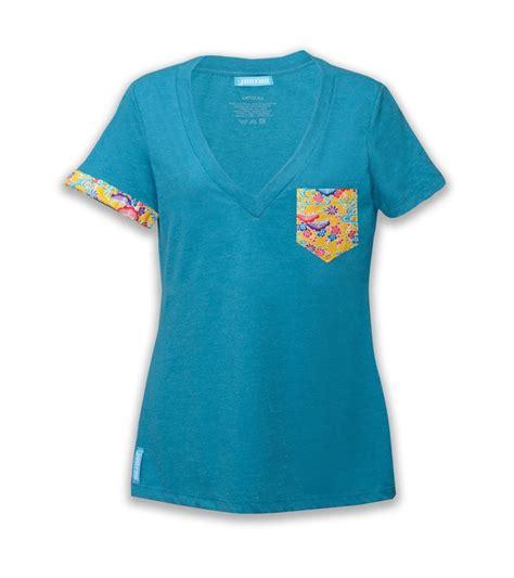 womens teal v shirt jootoo clothing company