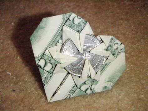 Origami With A Dollar Bill - 52 best origami images on bricolage paper