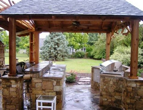 outdoor kitchen roof ideas roof line davenport outdoor kitchen