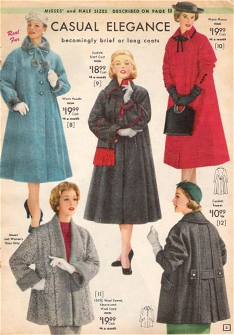 50s swing fashion 1950s style coats and jackets vintagedancer