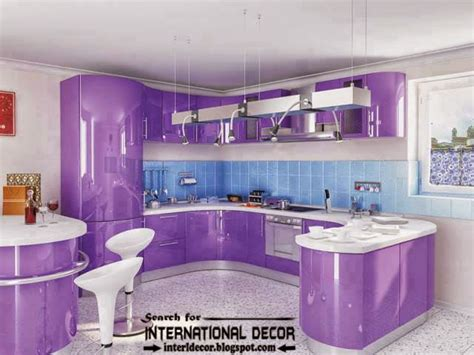 purple kitchens design ideas kitchen colors how to choose the best colors in kitchen 2016
