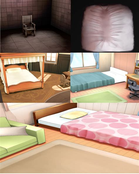 Bedroom Groups mmd stage pack by amiamy111 on deviantart