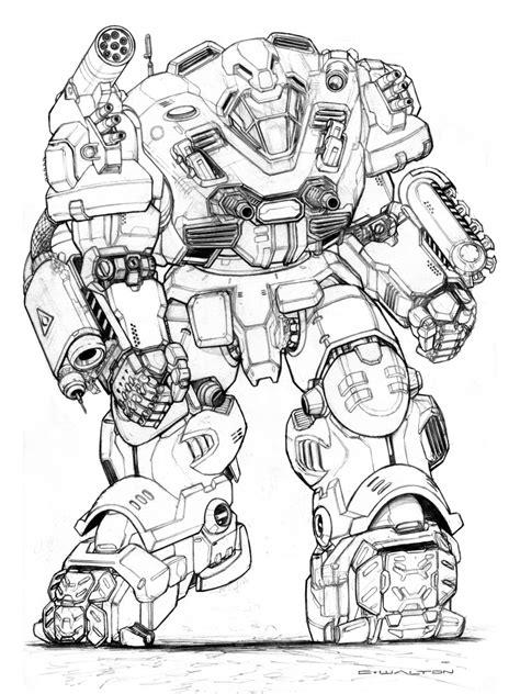 Of Robots Heavy Gun Barrel Ng 4 rifts ng master robot by chuckwalton deviantart