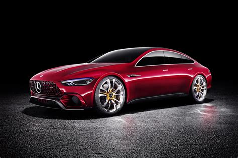mercedes amg concept mercedes amg gt concept revealed previews upcoming four