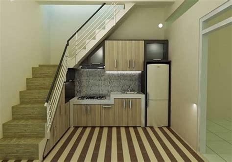 desain dapur mungil dibawah tangga dapur minimalis bawah tangga desainrumahminimalis co id