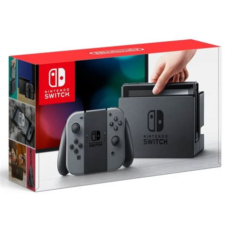 Nintendo Switch Gray Con nintendo switch con l r gray import from japan