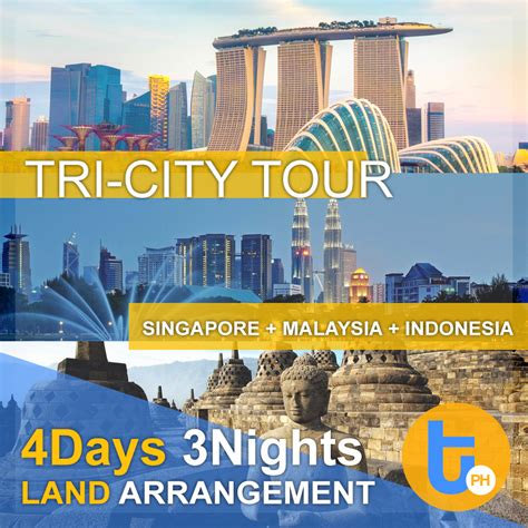Singapore Tour 4d3n All In 4d3n tri city package