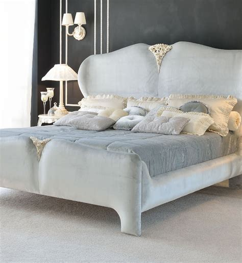 Luxury Upholstery by Luxurious Italian Designer Upholstered Bed