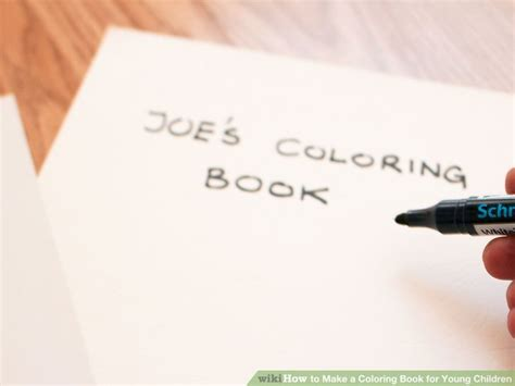 how to make a coloring book how to make a coloring book for children 13 steps