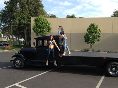 extended cab hot rod  race car hauler hydraullic
