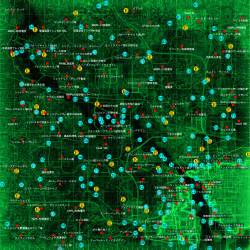 Fallout 3 World Map by Fallout 3 Map Locations Fallout Free Engine Image For