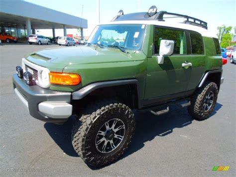Home Interior Colors For 2014 2010 Army Green Toyota Fj Cruiser 4wd 63596122 Gtcarlot