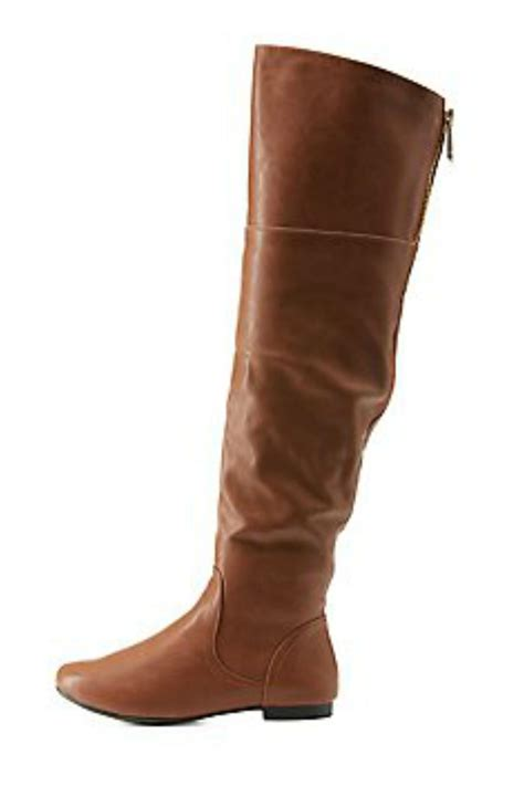 bamboo brown leather boots from atlanta by couture