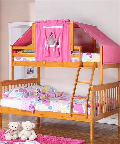 Bunk Bed Canopy Tent Look What I Found On Zulily Honey Pink Mission Tent Bunk Bed By Donco