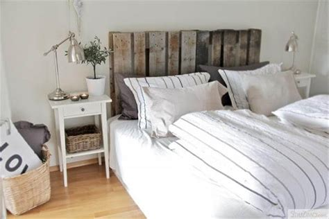 recycled headboard 40 recycled diy pallet headboard ideas