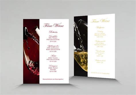 Onlineshop Design Vorlagen Weinkarte Drucken Weinkarten Erstellen Cewe