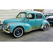 French Nomenclature 1960 Renault 4CV