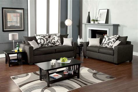 living rooms with grey sofas grey sofa set 1640 graphite gray sofa set living room sets collections thesofa