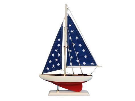 Sailing Decor by Wholesale Patriotic Sailer 17 Quot Model Ship Assembled Wholesale Table Centerpiece Sailboats