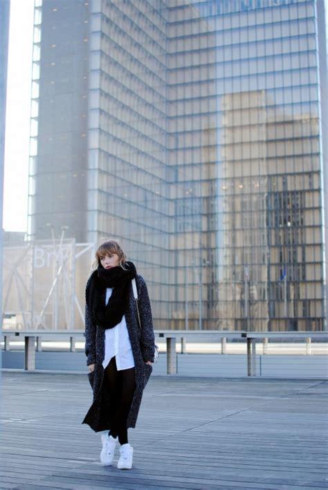 2014 blog of the long now blog mode paris look gilet long et chemise blanche sp4nk