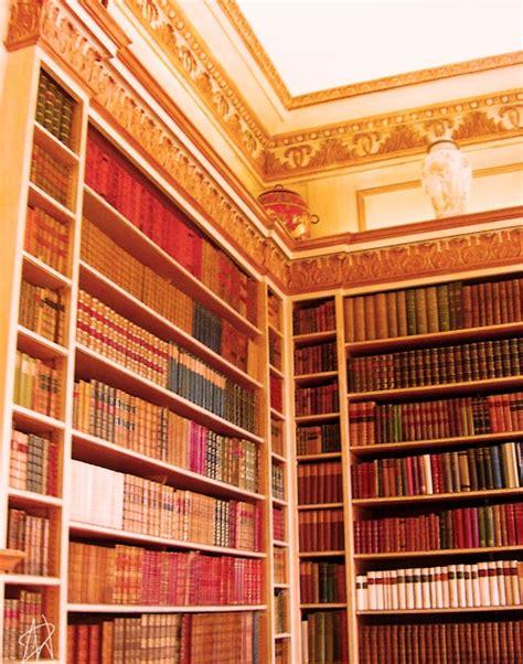 bookcase in leeds castle kent bibliophile