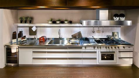 21 Awesome Stainless Steel Kitchen Design Ideas Stainless Steel Kitchen Designs