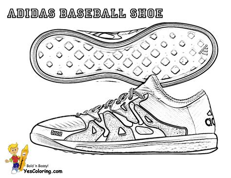 Adidas Shoe Template by Adidas Shoes Coloring Pages Sketch Template Gekimoe 46804