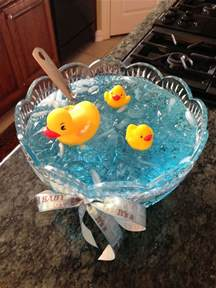 nautical baby shower punch babies