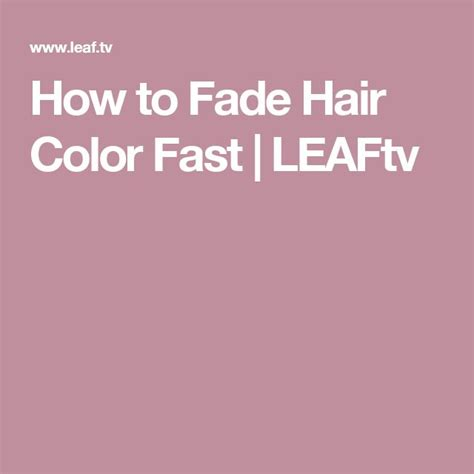 how to fade hair color fast 25 unique faded hair ideas on hair barber